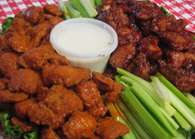 Rubino's Pizzeria Catered Buffalo Wings!