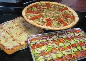 Rubino's Pizzeria Catered Pizza Party!