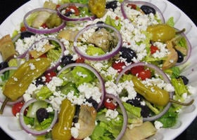 Rubino's Pizzeria Catered Salads!