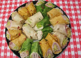 Rubino's Pizzeria Catered Sandwich Trays!